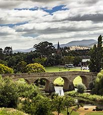 Richmond in the Coal River Valley, Tasmania